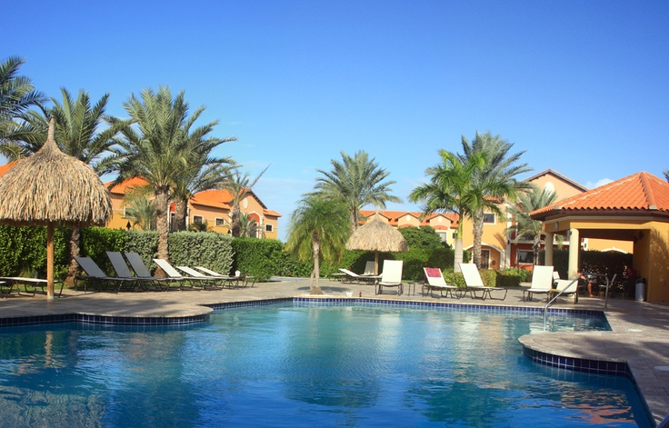 Could you see yourself relaxing by our beautiful pool... Gold Coast Aruba invites you