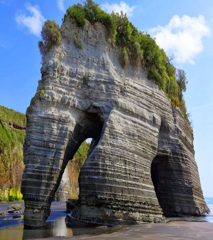 Elephant Rock in New Zealand (Duntroon, Otago)
