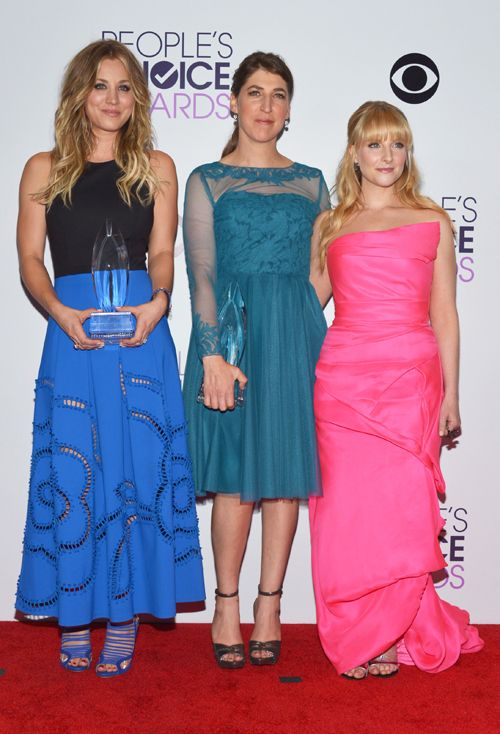 Kaley Cuoco, Mayim Bialik and Melissa Rauch