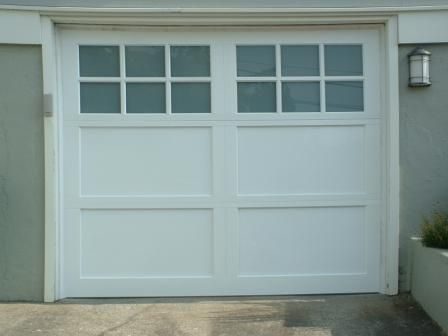 Roll Up Carriage House Style Garage Door Outdoors
