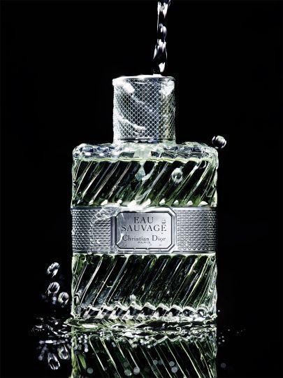 Still life photographer Candice Milon - Dior Eau Sauvage #water #perfume