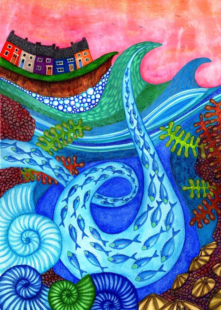 Bridget Wilkinson, UK Artist.