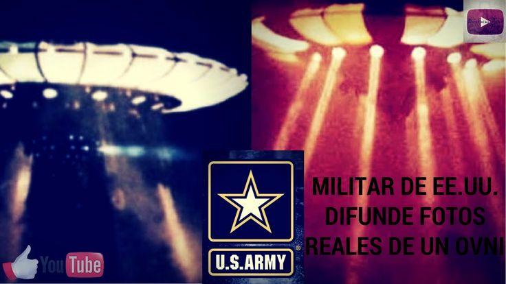 MILITAR DE EE.UU. DIFUNDE FOTOS REALES DE UN OVNI.
