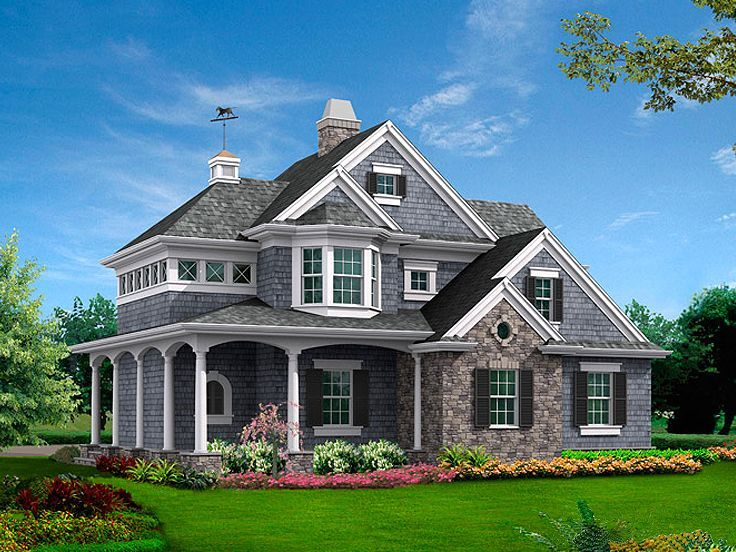 1000 images about 4 car garage plans on pinterest for Victorian carriage house plans