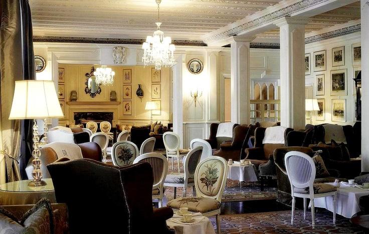 Imagine yourself enjoying high-tea in this elegant setting.