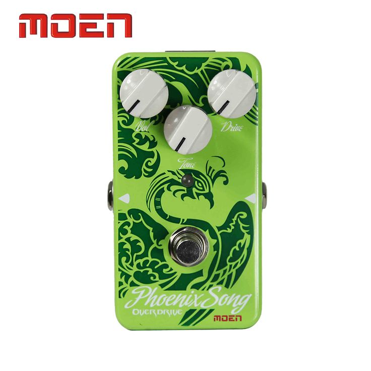 Moen AM-OD Pedal True Bypass Design Phoenix Song Overdrive Electric Guitar Effect Pedal #Affiliate