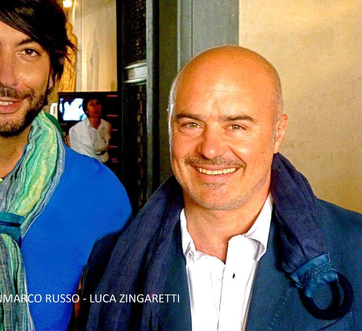 Gianmarco Russo stilista - Luca Zingaretti -