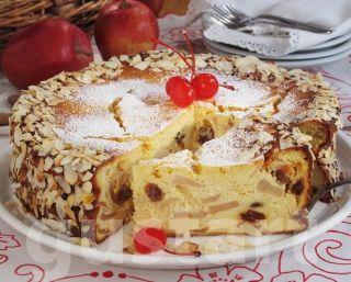 Lajos Mari konyhája - Almás túrótorta
