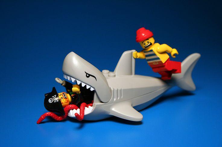 Lego Shark Toys : Http ickshelf gallery rebelrock weirdness