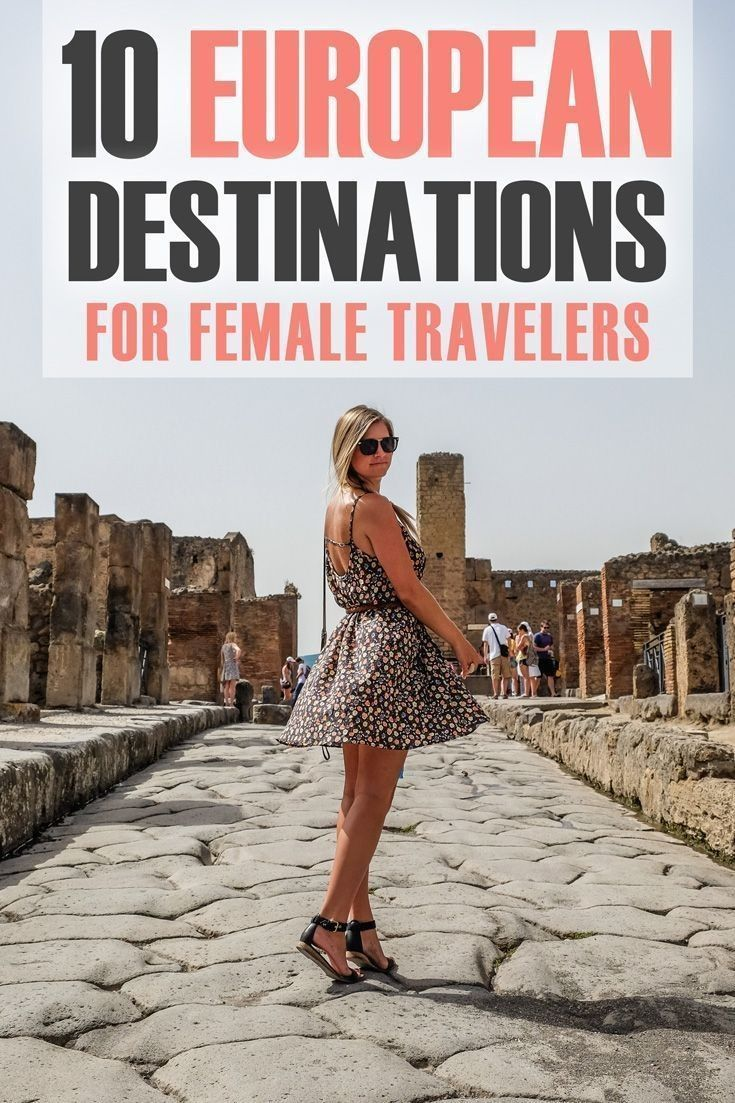 Here are the best destinations for female solo tra…
