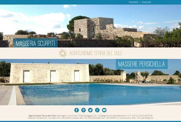 """Abbiamo pubbicato #online il sito web di """"#Agriturismo #Terra del #Sole"""", #bellissime #Masserie nel #cuore del #Salento.  #officialsite: http://www.agriturismoterradelsole.it/  Il nostro #portolio #web è stato aggiornato, dai un occhiata  http://www.ribo.it/portfolio-web   #sitiweb #realizzazionesiti #webdesign #ribo #vacanze #vacanze2014 #motoridiricerca #webmarketing #seo #cms #sitoweb #sitointernet #orio #App #WebAgency #websites #Italy #Puglia #estate2014"""