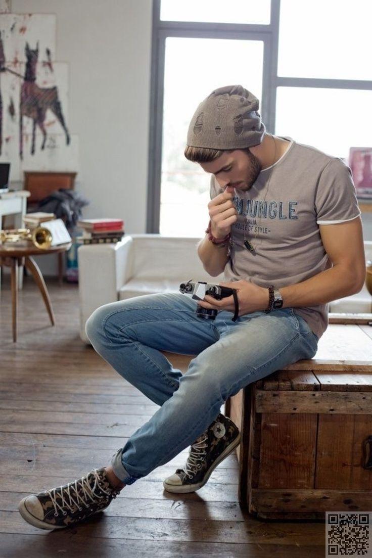 27. #portés en - Style #urbain s'accroche 39 sexy et chic masculin... → #Fashion