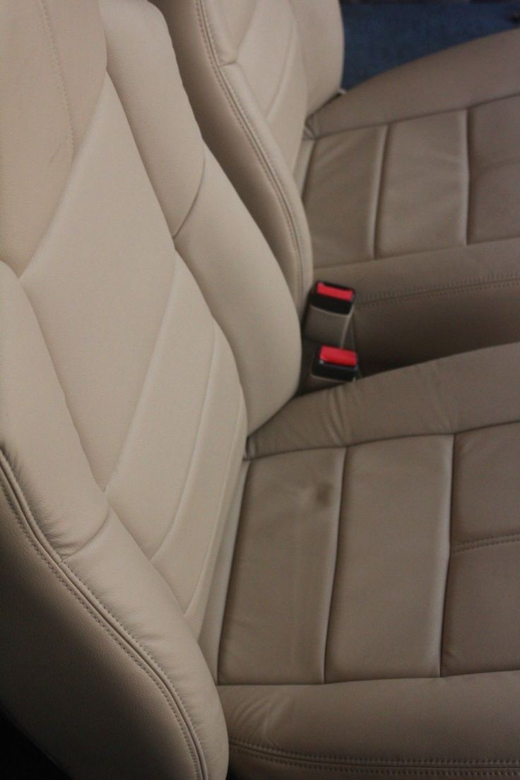 2010', 2009, 2008 F250 F350 Ford Seat Camel Tan Leather.