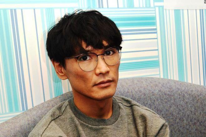 「音楽の未来に嫉妬していたい」と語る、サカナクションの山口一郎=10月22日、カラオケ館上野本店