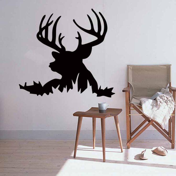 M s de 25 ideas incre bles sobre silueta de la cabeza de ciervo en pinterest silueta de ciervo - Cabeza de ciervo decoracion ...