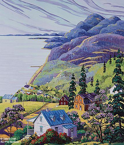 Vladimir Horik, 'St-Irénée', print/reproduction | Galerie d'art - Au P'tit Bonheur - Art Gallery