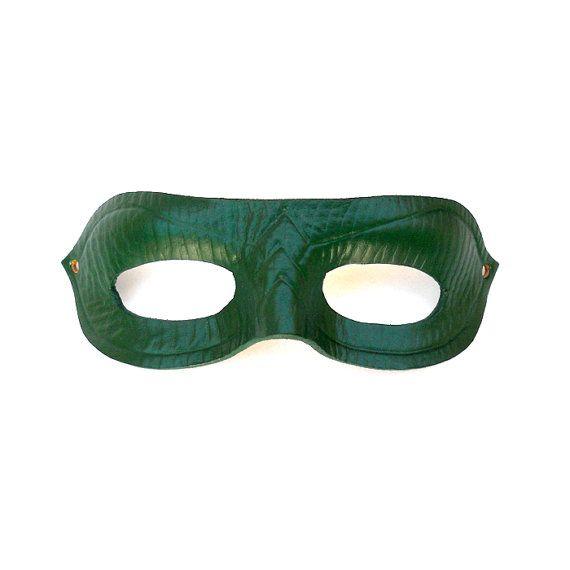 green arrow leather mask half mask tv series show super hero cosplay