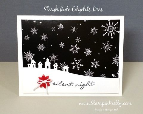 stampin up sleigh ride edgelits dies mary fish stampinup demonstrator blog