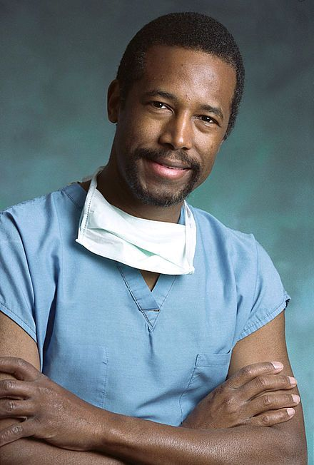 Ben Carson - He is credited with being the first surgeon to successfully separate conjoined twins joined at the head.