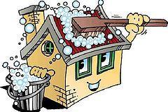 Уборка домов, коттеджей
