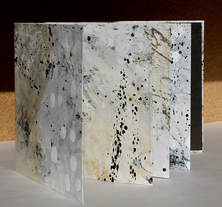 textures shapes and color: Artists Books by Leslie Avon Miller