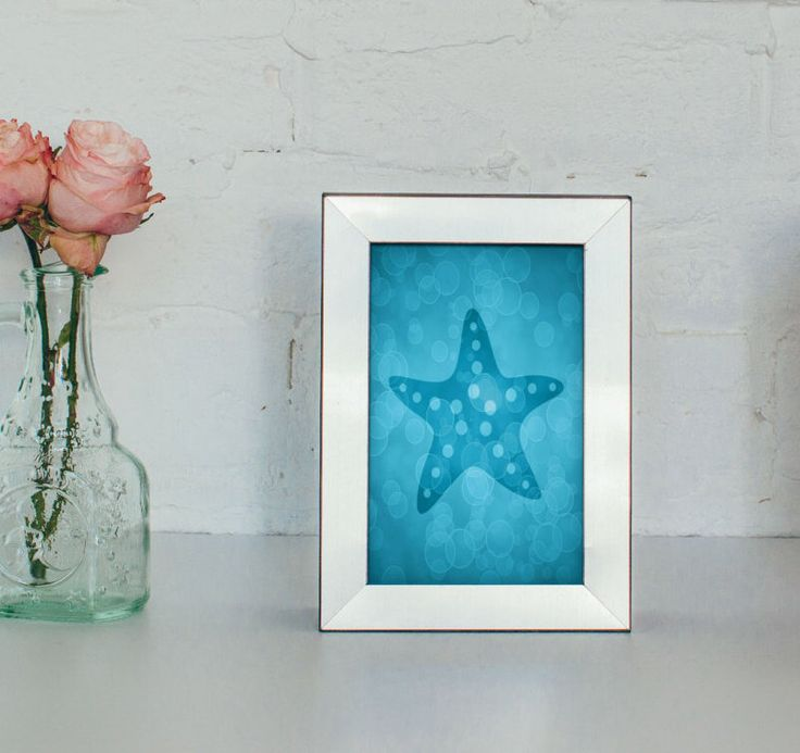 Starfish Art Print 4 X 5 X Sea Life Nursery Decor, Sea Life Prints,  Starfish Decor, Bathroom Decor, Beach House Wall Art Decor