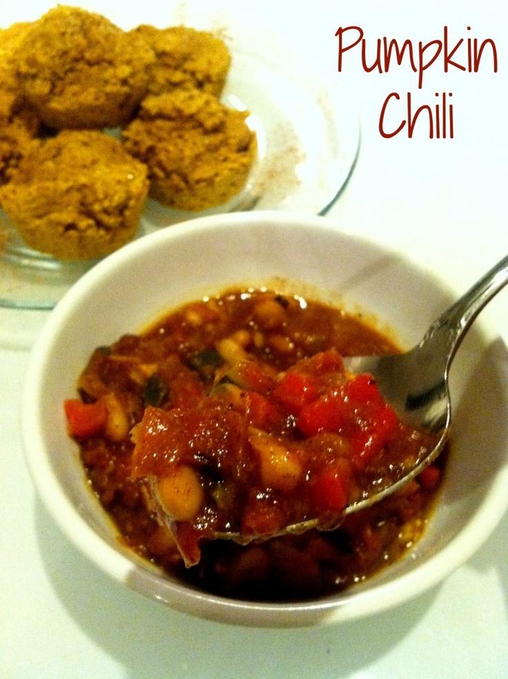 Pumpkin Chili! This is going on my September menu-list asap.