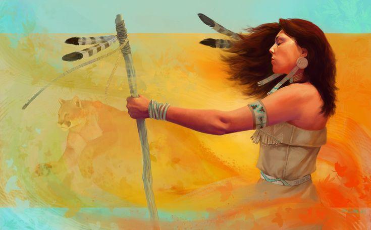 Spirit by Zephyri.deviantart.com on @deviantART #amerindian