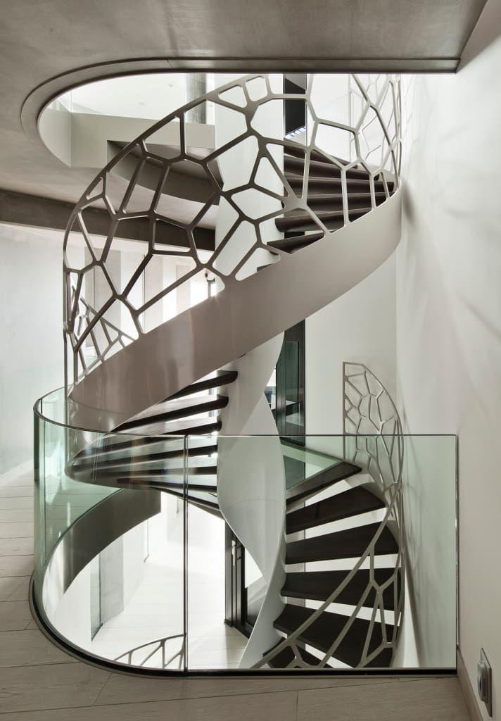 1000 ideias sobre escadas caracol no pinterest escadas for Apliques para escaleras interiores