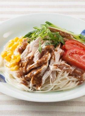 棒々鶏風冷しゃぶサラダそうめん by ハウス食品株式会社 [クックパッド ...