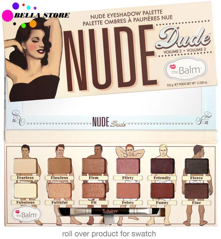 MEET NUDE Dude – Volume 2 12 Shade Eyeshadow / Liner Palette nude eyeshadow palette dude eyeshadow palette with brush