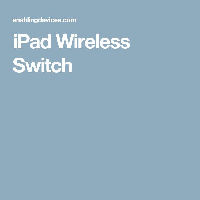 iPad Wireless Switch