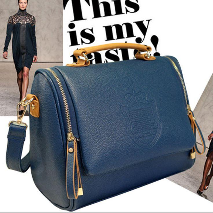 2016 New Arrival PU Casual Women Solid Cover Women Messenger Bags Handbag Women's Bag Shoulder Bag