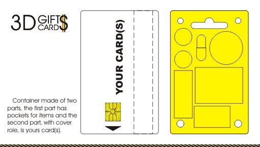 3D Gifts Cards - Container. Portofel. Ambalaj. Rigla ...