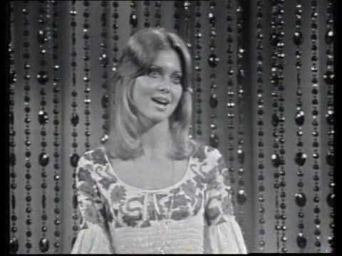 """olivia newton john 1971 Australian TV performance of """"If Not For You"""".  adorable. look at her dance!"""