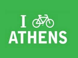 Love cycling Athens