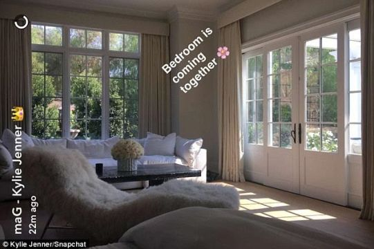 Kylie Jenner shows off progress of her new $6 million mansion on Snapchat