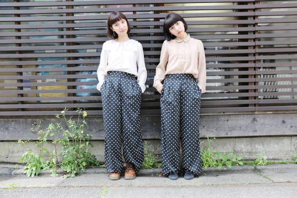 えまえりの双子コーデSNAP! 流行りの双子コーデは本物の双子に学ぶ!!   FEATURE   HARAJUKU KAWAii!! STYLE