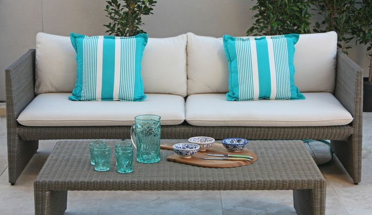 Outdoor furniture by Baie Interiors.