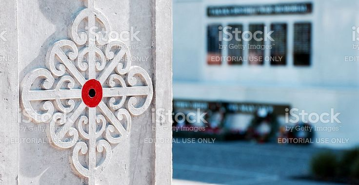 Takaka Public War Memorial Garden royalty-free stock photo