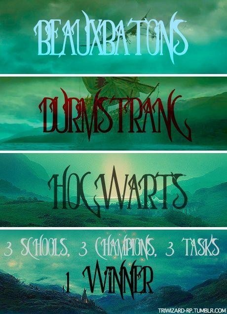 1000  images about triwizard tournament on pinterest