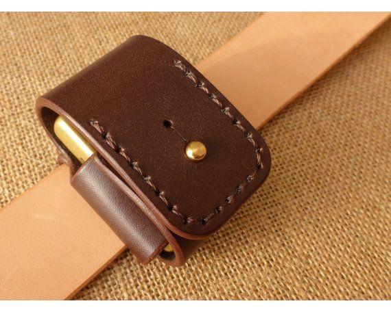 A tough leather lighter belt case for Zippo petrol lighters ...    Main Features:  - Fits standard size Zippo, Zippo Armor, Zippo Vintage series