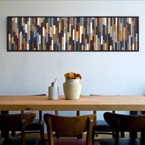 Un diy de déco murale en bois pour moins de 20 woods woodworking and interiors