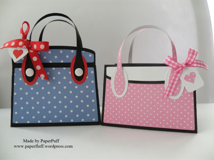 Tonic Kensington bag; dotty papers from Craftwork Cards