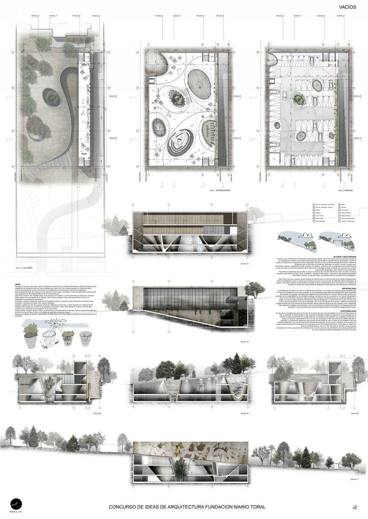 Galería de Mención Honrosa Concurso de Ideas Museo Mario Toral - 7