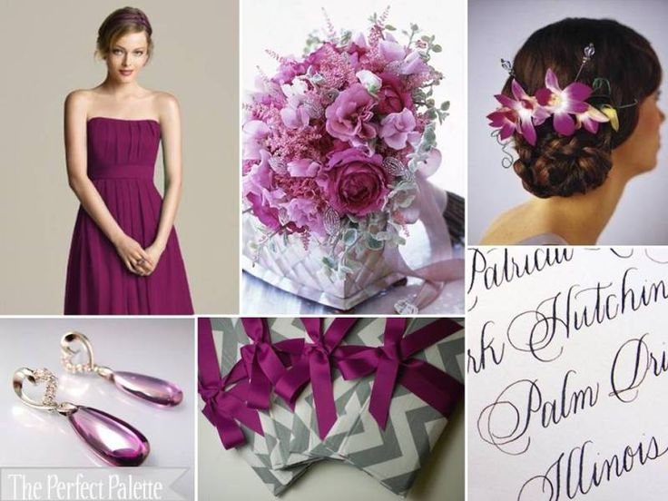 The Perfect Palette: {The Perfect Palette's Color of the Year}: Fabulous Fig!: Wedding Color, Perfect Palettes, Color Palettes, Idea, Color Schemes, Color Combos, Grey, Figs Color, Antiques Gold