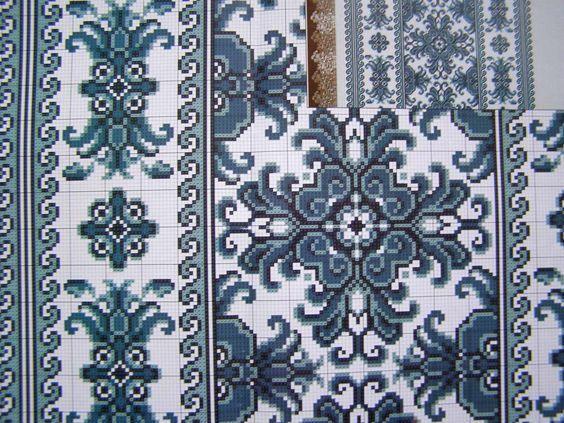Cross Stitch Embroidery Pattern Ukrainian Easter Wedding Towel Rushnyk Set 5 145 | eBay: