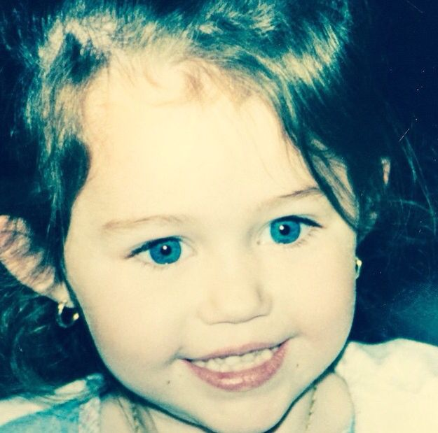 165 best images about Miley cyrus baby pics on Pinterest ...