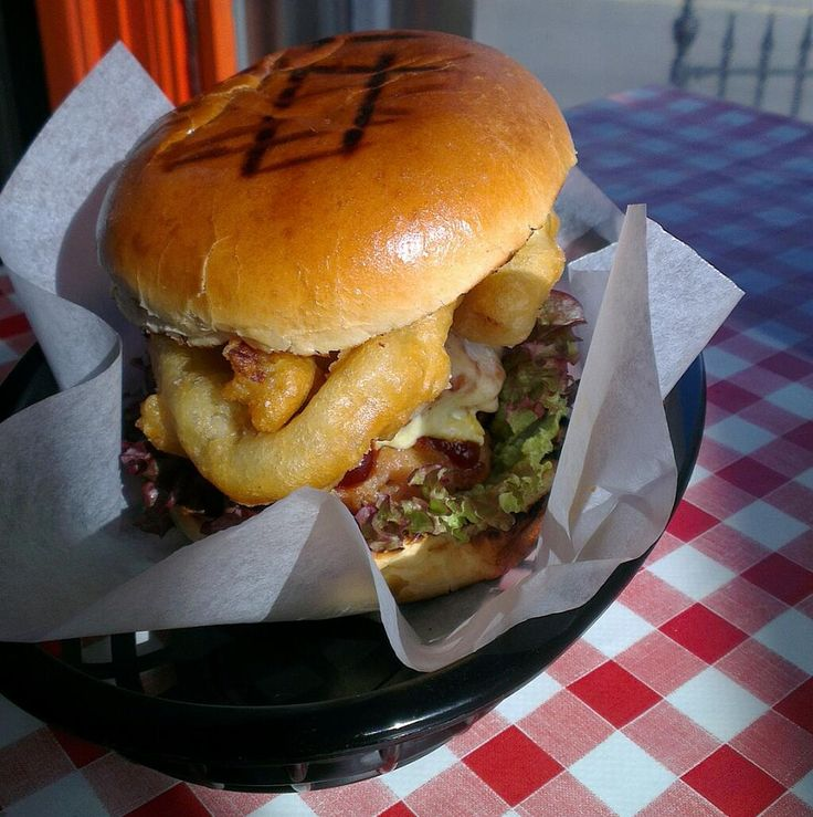 'Pigger Than Hip Hop'  our patties are made entirely out of bacon. Tastes like heaven in a bun! @TwistedBurgerCo #porky