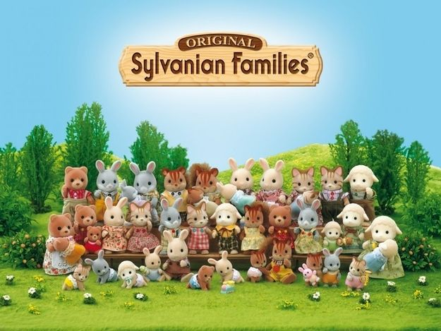Sylvanian Families/Calico Critters | The 10 Absolute Best Girl Toy Lines Of The '80s
